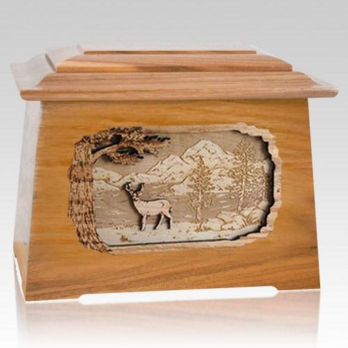Deer Oak Aristocrat Cremation Urn