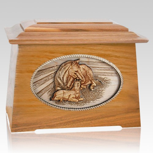 Daddys Love Oak Aristocrat Cremation Urn