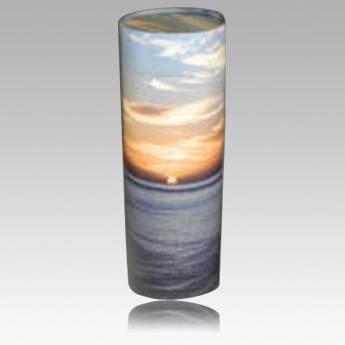 Pet Sunset Biodegradable Scattering Urn