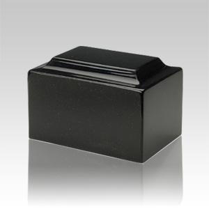 Orca Black Granite Medium Urn