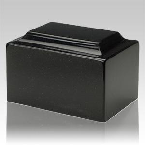 Orca Black Granite Individual Urn