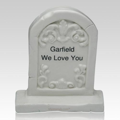 Pet Ceramic Grave Stone