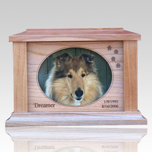 Paws Forever Picture Cremation Urn - Large