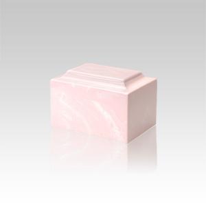 Pink Marble Keepsake Urn