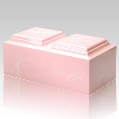 Pink Marble Companion Urn