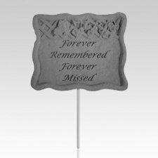 Forever Remembered Garden Stake