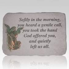 Softly In The Morning Angel Stone