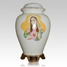 Mary Ceramic Cremation Urn