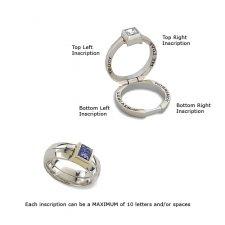 Princess Treasure Memory Keepsake Ring