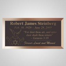 Peace Dove Bronze Plaque