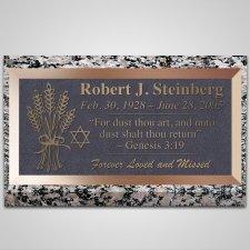 Wheat Bundle Bronze Plaque
