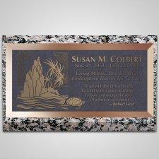 Galapagos Islands Bronze Plaque