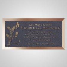 Cardinal Bronze Plaque