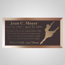 Ballerina Bronze Plaque
