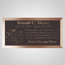 Musical Bronze Plaque