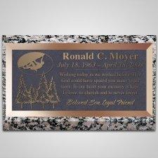 Adventurer Bronze Plaque