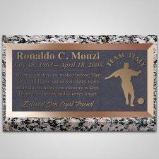 Italia Bronze Plaque
