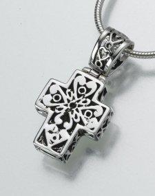 Filigree Cross Pet Memorial Jewelry III