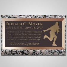 Success Bronze Plaque
