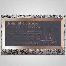 Pacific Bronze Plaque