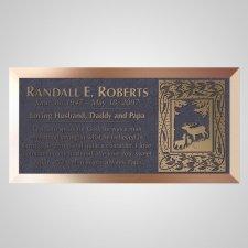 Grasslands Bronze Plaque