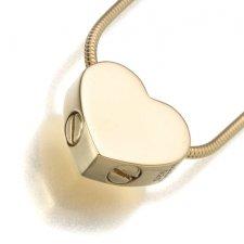 Slider Companion Heart Keepsake Pendant II