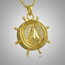 Boat Wheel Keepsake Jewelry II