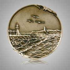 Lighthouse Coin Medallion Appliques