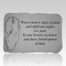 Weary Hours Days Of Pain Stone