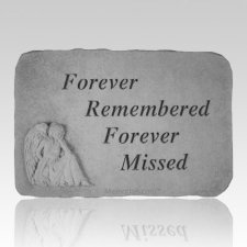 Forever Remembered with Sitting Angel