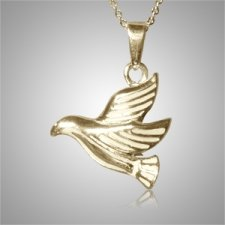 Flying Dove Cremation Jewelry IV