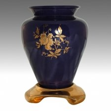 Paulette Purple Flower Vase