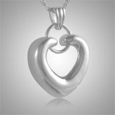 Ring Heart Companion Keepsake Pendant