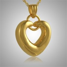 Ring Heart Keepsake Pendant IV