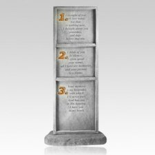 Thought Of You Obelisk Pet Memory Stone