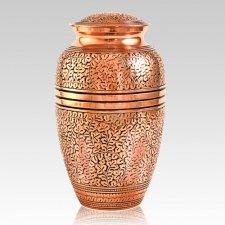 Antique Copper Cremation Urn
