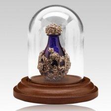 Silver Victorian Tear Bottle