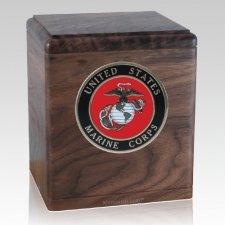 Freedom Walnut Marines Urn