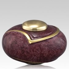 Luce Red Cremation Urn