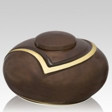Luce Brown Cremation Urn
