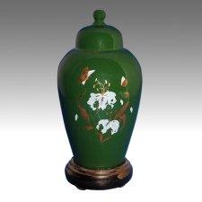 Green Pet Cremation Urn
