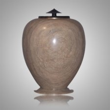 African Alabaster Companion Urn