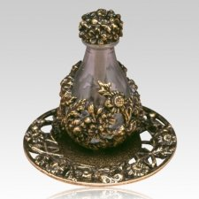 Brass Victorian Tear Bottle