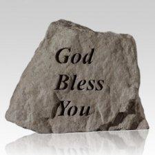 God Bless You Keepsake Rock