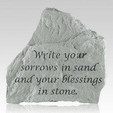 Write Your Sorrows Rock
