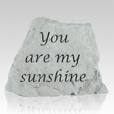 My Sunshine Keepsake Rock