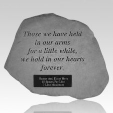 Holding Memorial Rock