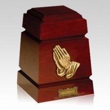Monticello Praying Hands Cremation Urn