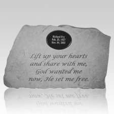 Lift Up Your Hearts Stone