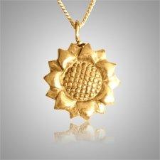 Sun Flower Keepsake Pendant IV